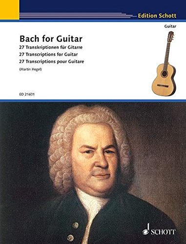 9783795708382: Bach for Guitar: 27 Transcriptions for Guitar