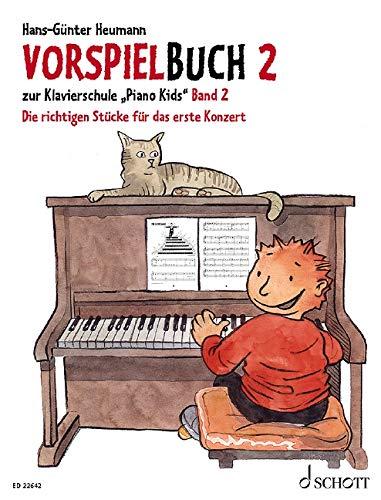 Vorspielbuch 2: zur Klavierschule Piano Kids Band: Hans-Günter Heumann