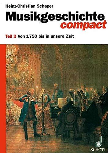 9783795723828: Musikgeschichte Compact 2
