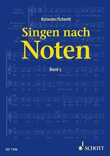 9783795725563: Singen nach Noten.