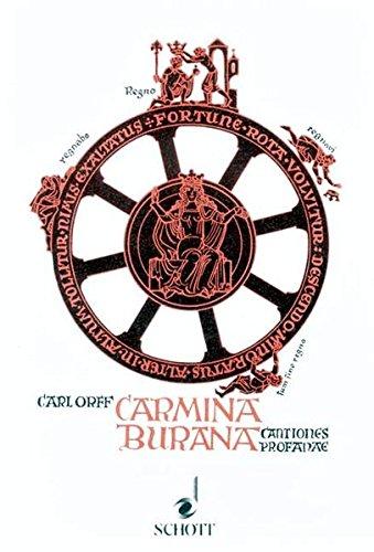 Carmina burana. Textbuch. Lieder aus der Benediktbeurer: Orff, Carl.