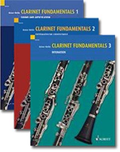 Clarinet Fundamentals. Basisübungen für Klarinette, 3 Bde.: Reiner Wehle