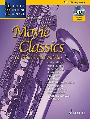 9783795745165: Movie Classics Saxophone +CD
