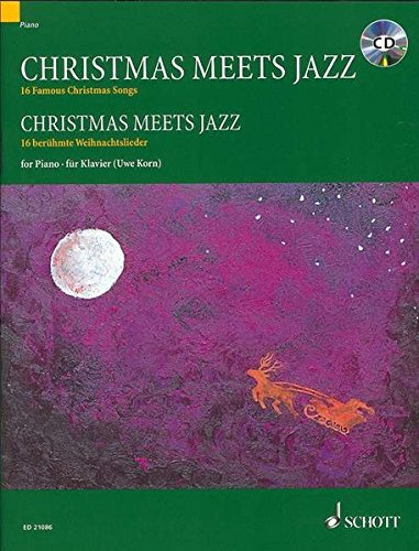 9783795745615: Christmas Meets Jazz Piano +CD