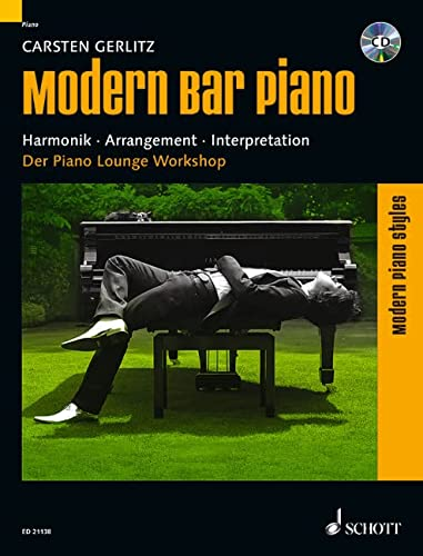9783795745752: Modern Bar Piano, Klavier, m. Audio-CD