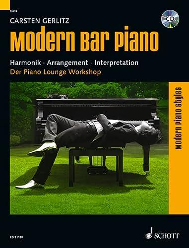 Modern Piano Styles: Modern Bar Piano: Harmonik: Carsten Gerlitz