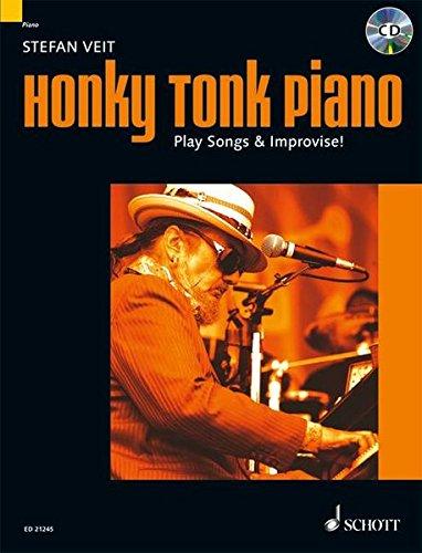 9783795746063: Honky Tonk Piano: Play Songs & Improvise!. Klavier