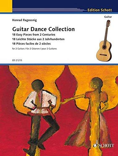 Guitar Dance Collection: 18 Easy Pieces from 2 Centuries for 2 Guitars: Konrad Ragossnig