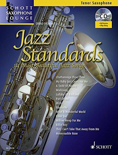 9783795746278: Jazz Standards. Tenor-Saxophon. Ausgabe mit CD