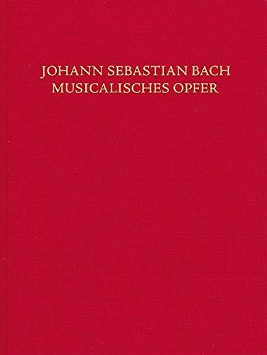 Musical Offering, BWV 1079: Clothbound Score