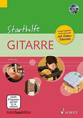 9783795746933: Starthilfe Gitarre: Songs begleiten - leicht gemacht + Video-Tutorials. Gitarre