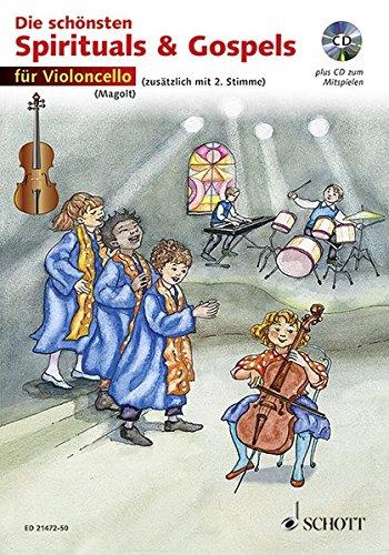 9783795747169: Die schönsten Spirituals & Gospels. 1-2 Violoncelli. Ausgabe mit CD