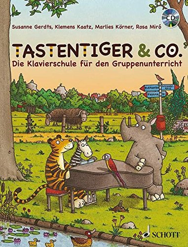 9783795747510: TASTENTIGER & CO. PIANO +CD