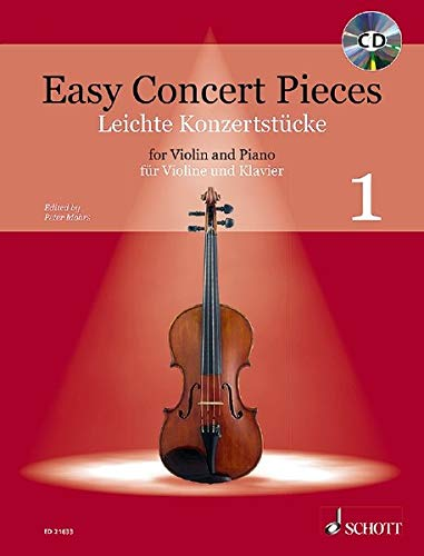 9783795747596: EASY CONCERT PIECES VOLUME 1 VIOLIN AND PIANO EDITION WITH CD