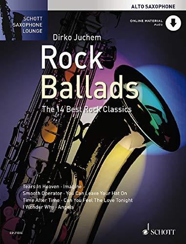 9783795748357: Rock Ballads: Alto Saxophone and Piano: The 14 Best Rock Classics (Schott Saxophone Lounge)