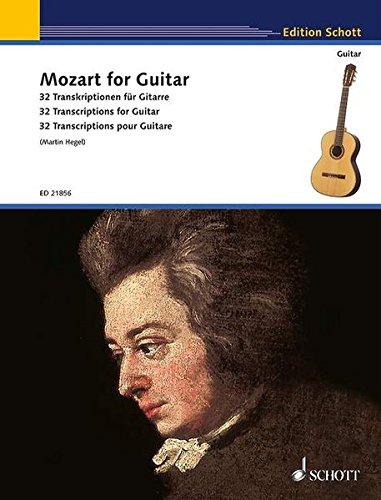9783795748562: Mozart for Guitar: 32 Transkriptionen für Gitarre. Gitarre