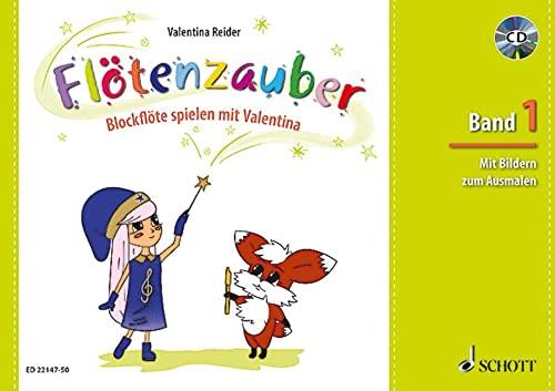9783795749507: Flötenzauber 01 . Ausgabe mit CD: Blockflöte spielen mit Valentina. Band 1. Sopran-Blockflöte