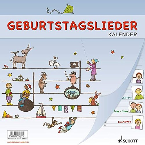 9783795749774: Geburtstagslieder Kalender