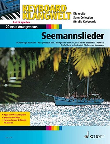 9783795750206: Seemannslieder: 20 neue Arrangements. Keyboard