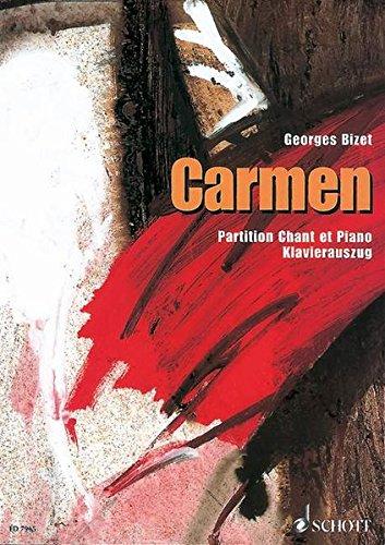 9783795750466: Carmen Piano Vocal Score