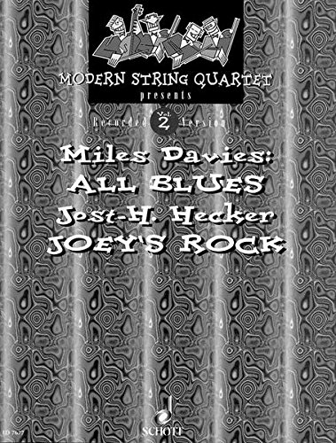 9783795750985: Modern String Quartet Presents All Blues/Joey's Rock: Score and Parts: 2