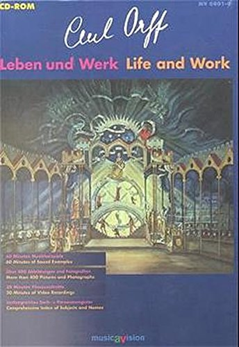 9783795751302: Carl Orff Life/work