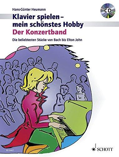 Der Konzertband. Die beliebtesten Stücke von Bach bis Elton John.: Hans-Günter Heumann