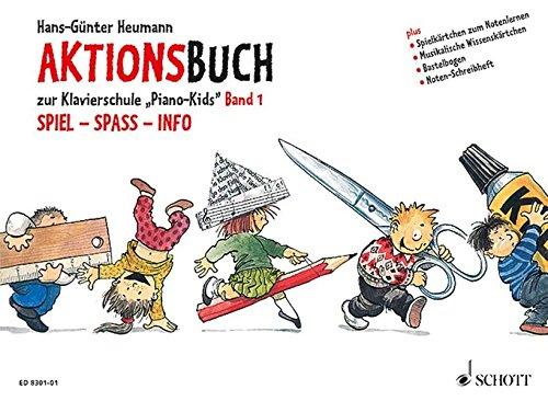 9783795751654: PIANO KIDS VOLUME 1 AKTIONSBUCH ZUR KLAVIERSCHULE (German Edition)