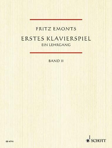 9783795751920: ERSTES KLAVIERSPIEL VOLUME 2 (German Edition)