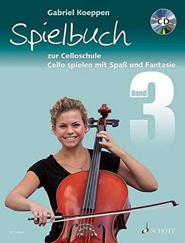 9783795752088: Cello spielen mit Spaß und Fantasie. 1-3 Violoncelli, teilweise mit Klavier. Spielbuch, m. Audio-CD. Bd.3