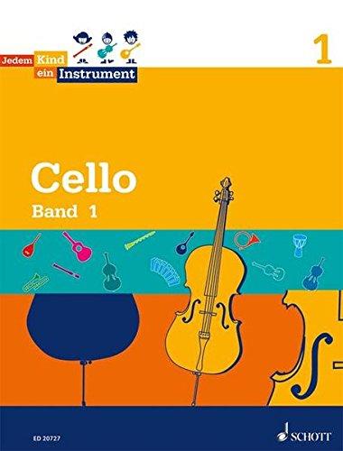 Jedem Kind ein Instrument: Band 1 - JeKi. Violoncello. Schülerheft. - Norbert Koop