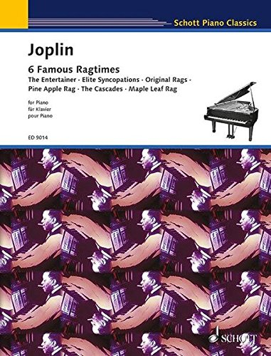 9783795752767: 6 RAGTIMES FROM THE SCHOOL OF RAGTIME PIANO SOLO