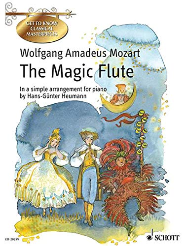 9783795753085: The Magic Flute in a Simple Arrangement for Piano