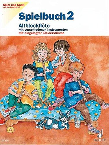 9783795753429: Spiel & Spass 2 Spielbuch Flûte a Bec
