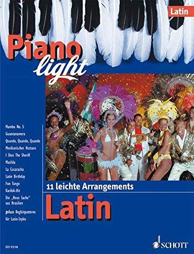 9783795753955: Piano light, Latin