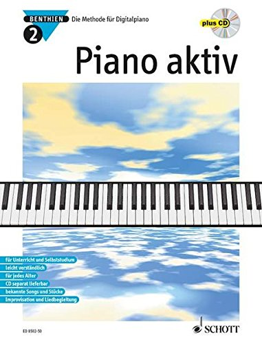 9783795754037: Piano aktiv 2. Mit CD: Die Methode für Digitalpiano