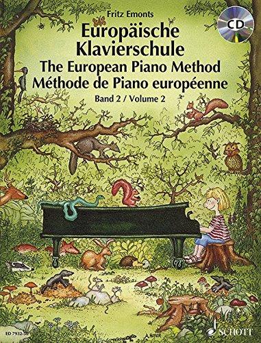 9783795754365: Europäische Klavierschule 2. Buch und CD
