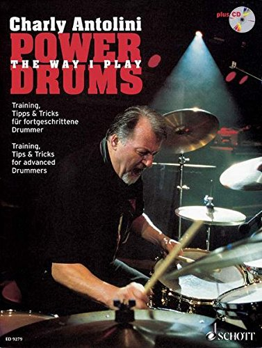 9783795754495: Power Drums: Training, Tips & Tricks for Advanced Drummers