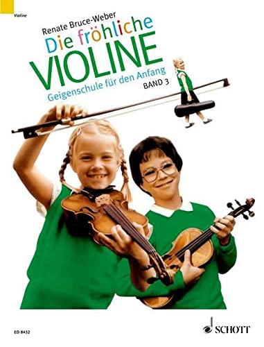 9783795754631: Fröhliche Violine, Bd.3, B-Tonarten, C-Dur, 2. und 3. Lage, 'Doppelgriffe und andere Kniffe'