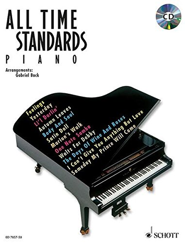 9783795754655: All Time Standards. Piano. Mit CD: Noten