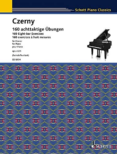 9783795754754: Heures du matin Op.821 (160 Eight-bar exercices) --- Piano.