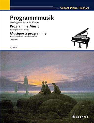 9783795754907: PROGRAMME MUSIC: 40 ORIGINAL PIANO PIECES (Schott Piano Classics)