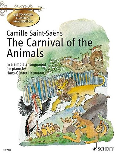 9783795755065: The Carnival of the Animals: In a Simple Arrangement for Piano