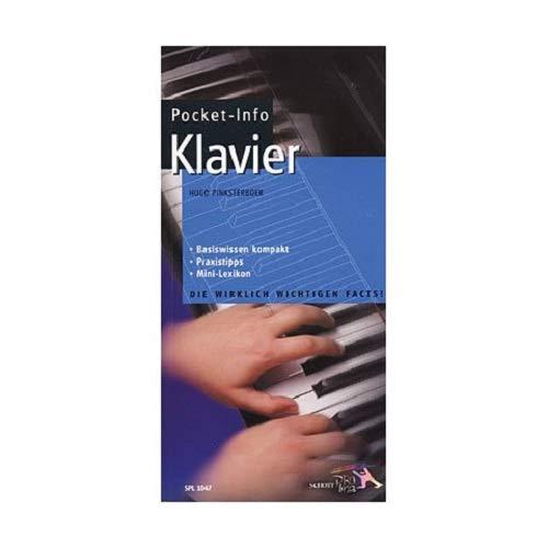 Pocket-Info, Klavier und Flügel: Basiswissen, Praxistipps, Mini-Lexikon: Hugo Pinksterboer