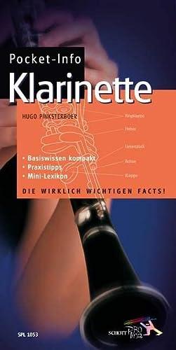 9783795755416: Pocket-Info Klarinette: Einfach. Eingängig. Gründlich. Das Nachschlagewerk für Anfänger und Fortgeschrittene. Mit MIni-Lexikon