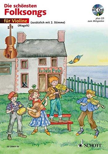 Die schönsten Folksongs/für Violine - Christa Estenfeld-Kropp