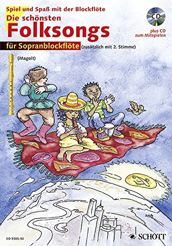 9783795755720: Die schönsten Folksongs.