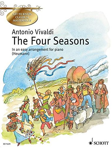 9783795756406: The Four Seasons: Concertos for violin, strings and basso continuo. op. 8/1-4. Klavier. (Get to Know Classical Masterpi)