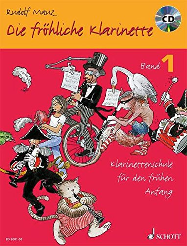9783795756413: DIE FROHLICHE KLARINETTE VOLUME 1 BOOK WITH COMPACT DISC