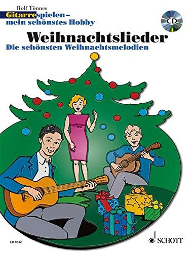 9783795756420: GUITAR PLAYING CHRISTMAS SONGS METHOD GUITAR GERMAN TEXT BOOK AND CD